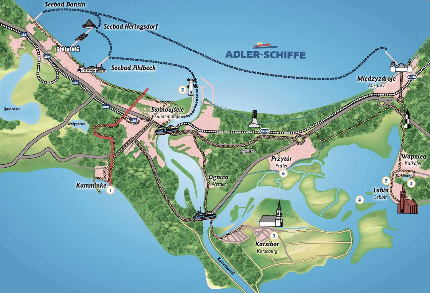 Gefuhrte Radtouren Usedom Und Wollin Der Pommernradler
